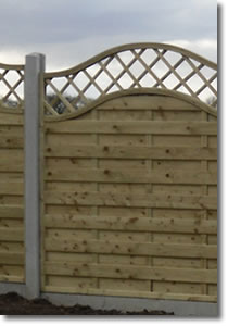 Sample Garden Fence